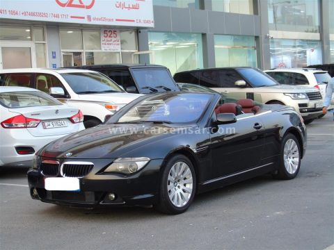 2007 BMW 6-Series 630i Cabriolet