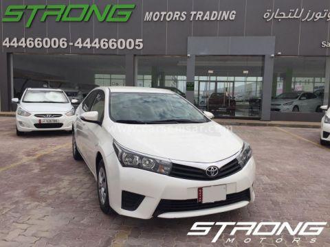 2015 Toyota Corolla XLi 1.6