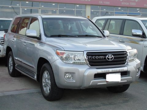 2012 Toyota Land Cruiser GXR