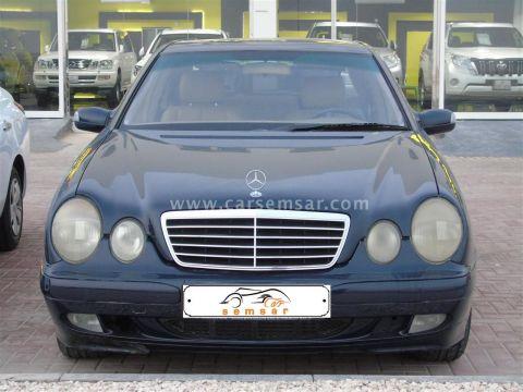 2001 Mercedes-Benz E-Class E 200 Kompressor