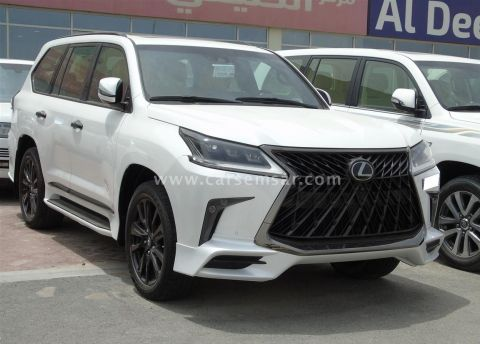 2019 Lexus LX 570 Black Edition Sport