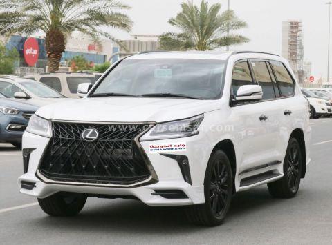 2020 Lexus LX 570 Black Edition Sport
