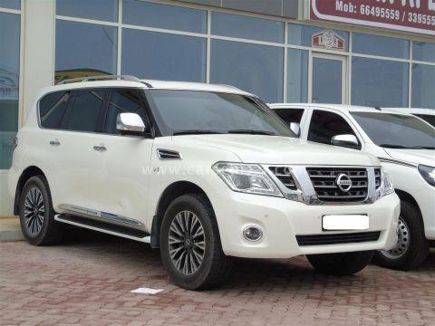 2014 Nissan Patrol Platinum