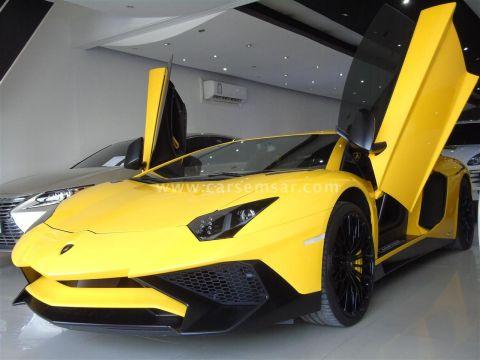 2016 Lamborghini Aventador S