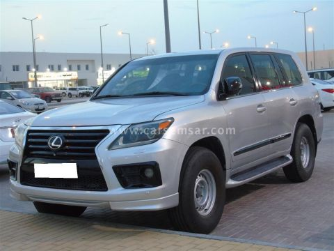2012 Lexus LX 570 Supercharged