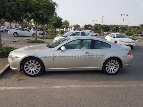 2006 BMW 6-Series 630i