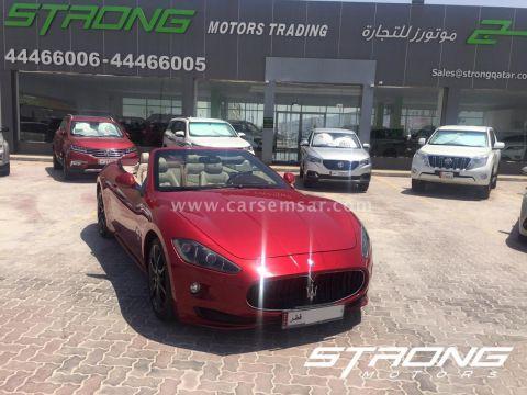 2012 Maserati Gran GranCabrio