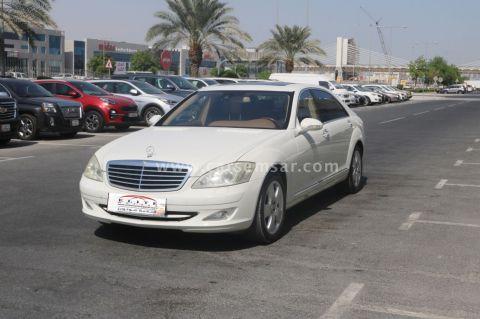 2008 مرسيدس بنز الفئه S 500