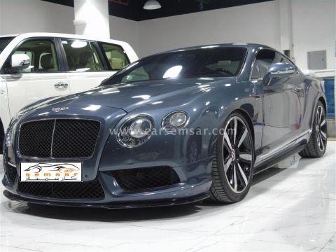 2015 بينتلي كونتيننتال GT