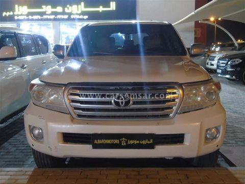 2009 تويوتا لاند كروزر GXR V8