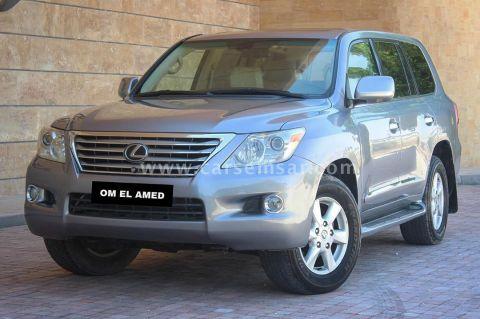 2008 لكزس ال اكس 570