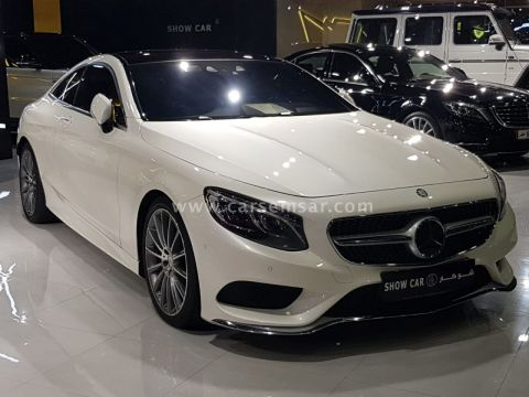 2016 Mercedes-Benz S-Class S 500 AMG Coupe