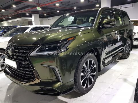 2021 Lexus LX 570 Black Edition Sport