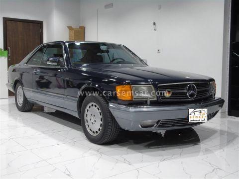1987 مرسيدس بنز الفئه SEC 560