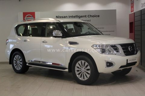 2017 Nissan Patrol Platinum LE