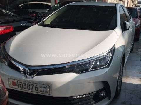 2018 Toyota Corolla 2.0 XLI
