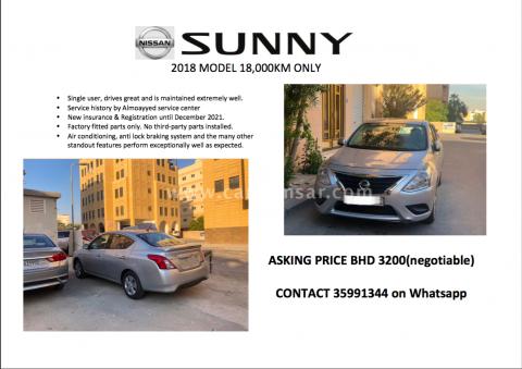 2018 Nissan Sunny 1.6