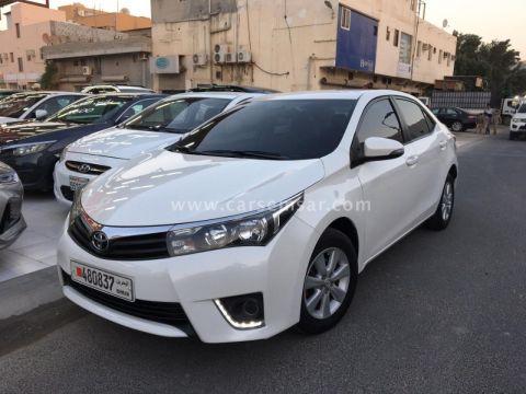 2014 تويوتا كورولا Corolla 2.0 XLI