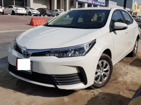 2018 Toyota Corolla XLi 1.6