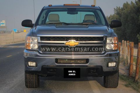 2013 Chevrolet Silverado 2500HD Crew Cab