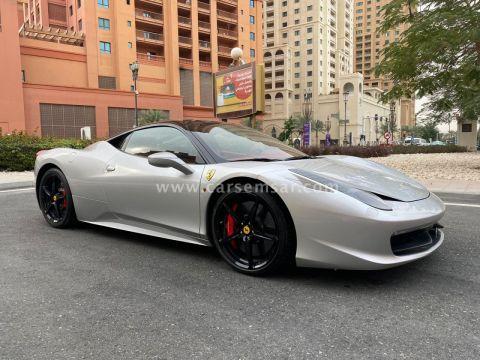 2013 Ferrari Italia Spyder 458