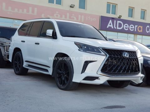 2017 Lexus LX 570 Black Edition Sport