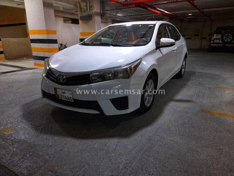 2015 Toyota Corolla 2.0 XLI