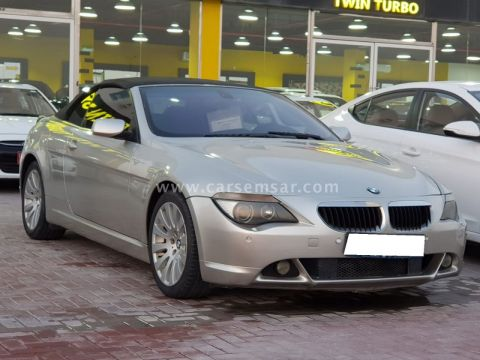 2007 بي ام دبليو الفئة السادسة 630i Cabriolet