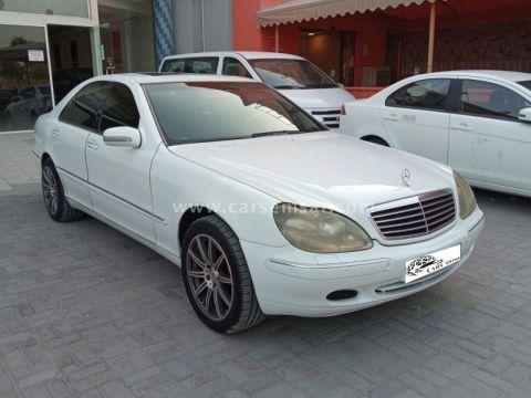 2001 Mercedes-Benz S-Class S 320