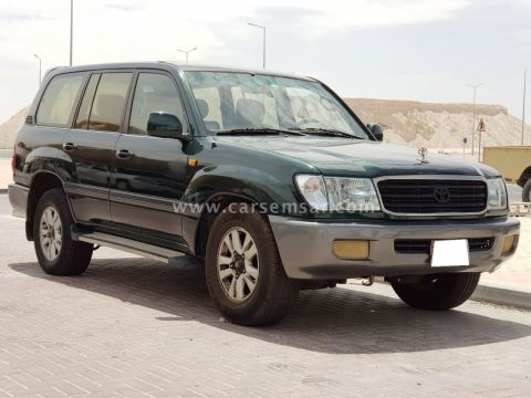 2002 Toyota Land Cruiser GXR