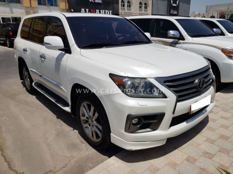 2014 Lexus LX 570 Sport