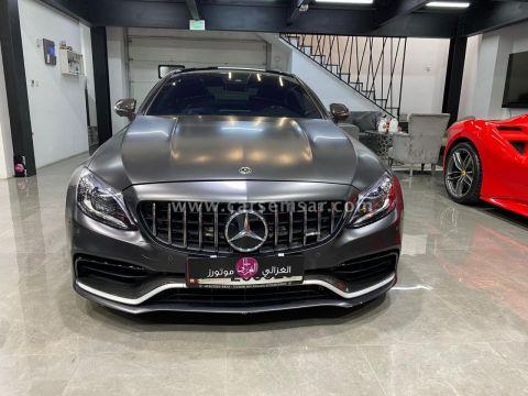 2019 Mercedes-Benz C-Class C 63S AMG