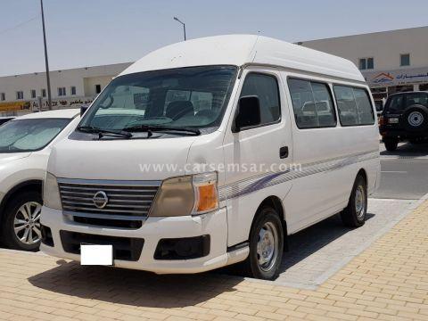 2008 Nissan Urvan Van