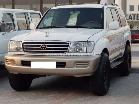 2000 Toyota Land Cruiser VXR