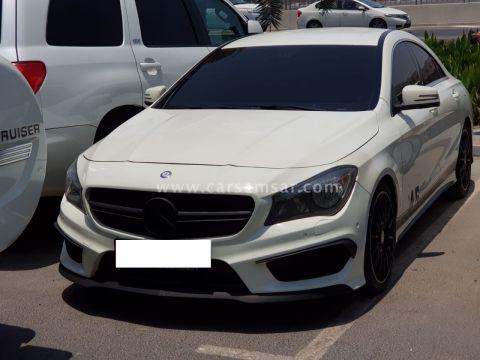 2015 Mercedes-Benz CLA-Class CLA45