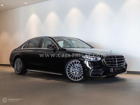 2021 Mercedes-Benz S-Class S 500