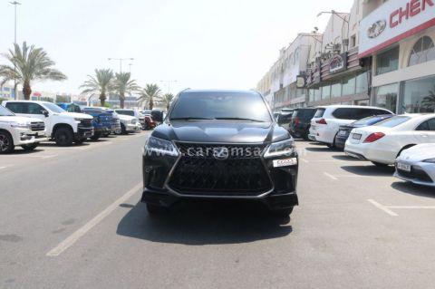 2019 لكزس ال اكس 570 سبورت بلاك إيديشن