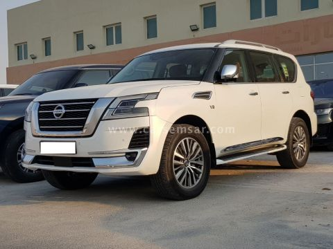 2020 Nissan Patrol Platinum