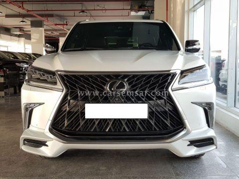 2019 لكزس ال اكس 570 سبورت