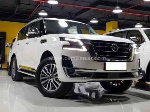 2021 Nissan Patrol Platinum