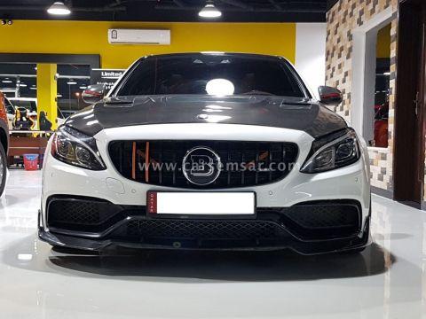 2015 Mercedes-Benz C-Class C 63S AMG