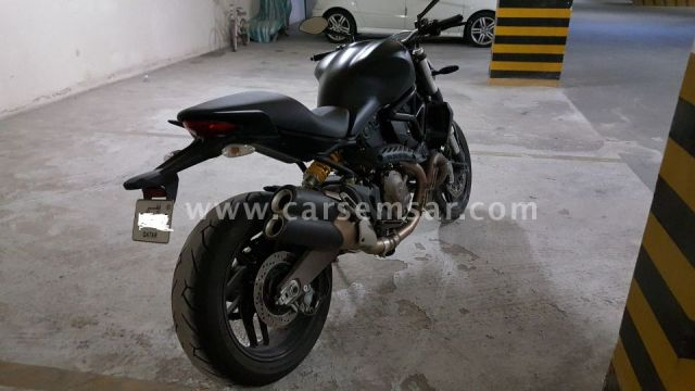 Ducati Monster 821 Dark in mint condition