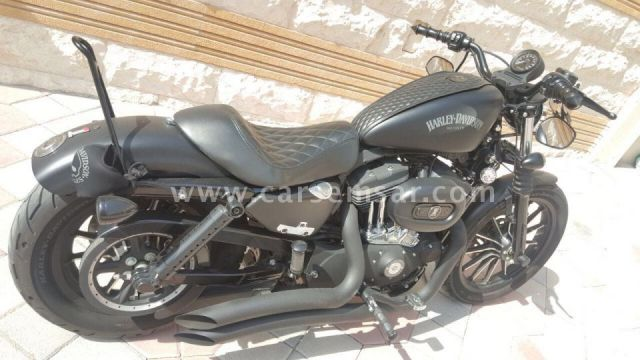 mint condition sportster harley davidson 833 matte black