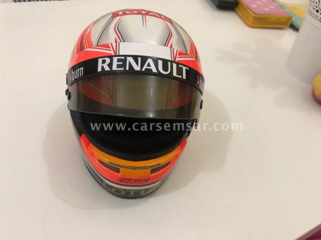 Display HELMETS - Bell HP7 R.Grosjean Silverstone 2013 by Com'On! Racing - painted by Bell Racing Eu